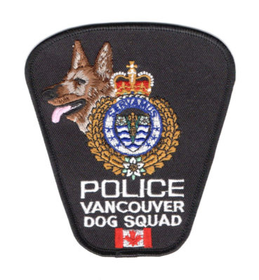 Vancouver City Police Dog Squad Logo